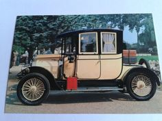 vintage Berliet 1909 postcard   Kuhn by simplyproducts on Etsy