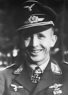 "■ Major Horst Ademeit (1912-1944) - RKE Kdr I./JG 54 ""Grünherz"""