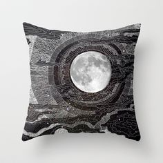 Moon Glow Throw Pillow by Brenda Erickson - $20.00