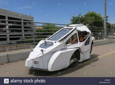 Download this stock image: Recumbent trike with prototype aerodynamic shell - JGN2J9 from Alamy's library of millions of high resolution stock photos, illustrations and vectors. Tricycle Bike, Lemonade, Camper, Shell, Illustrations, Stock Photos, Vehicles, Image, Buenaventura