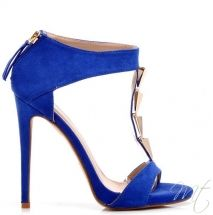 Damske modre sandaly Calogera #shoes