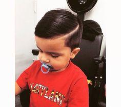 Toddler boy haircut. Fresh Fades barber shop. Perks of having a dad as a barber.