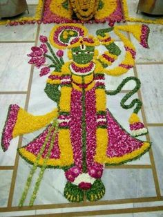 Flower Rangoli Designs Latest, Rangoli Designs Flower, Rangoli Patterns, Rangoli Border Designs, Rangoli Ideas, Colorful Rangoli Designs, Rangoli Designs Diwali, Diwali Rangoli, Rangoli Designs Images