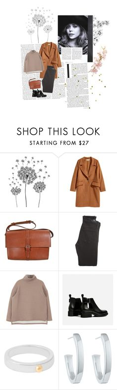 """""""107"""" by nocturnalanimal ❤ liked on Polyvore featuring Olsen, jcp, H&M, A.P.C., Citizens of Humanity and Susan Caplan Vintage"""