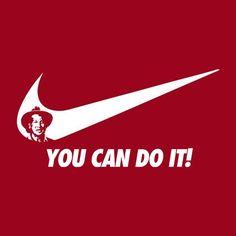 Rob Schneider You Can Do It Nike Logo