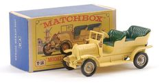 Matchbox Models of Yesteryear No.Y16-1 Spyker Veteran Automobile.