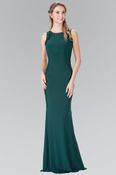 0eebcbc51e Emerald tight formal dress gls 2222-Simply Fab Dress Formal Dresses Online