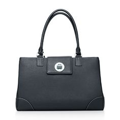 Tiffany & Co. | Item | Kendall satchel in onyx grain leather. More colors available. | United States