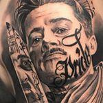 "2,155 Likes, 24 Comments - Carlos Fabra  CosaFina tattoo® (@carlosfabra_cosafina) on Instagram: ""Homenaje a su hijo Martí. Totalmente curado."""