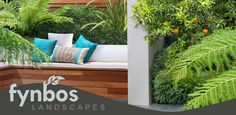 Creative design and meticulous installation has earned Fynbos Landscaping a leading reputation in the field of landscaping around Johannesburg. Top Gardening Design Company in Johannesburg. Outdoor Sofa, Outdoor Furniture, Outdoor Decor, Landscape Design, Garden Design, Cool Deck, Decking, Modern Contemporary, Creative Design