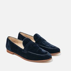 Velvet loafers - I bought these, but am leaving them on here just as an indicator of something that appeals to me.