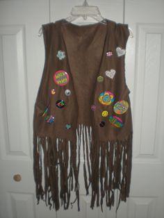 DIY hippie vest ....minus all those buttons