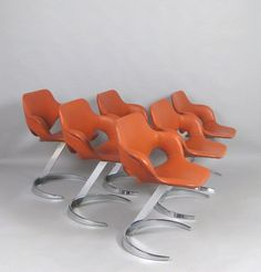 Boris Tabakoff, Mobilier Modulaire Moderne, France, 1971