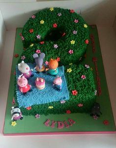Peppa Pig no 2 cake