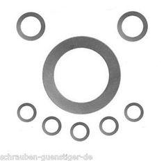 Spessori DIN 988 Spessori Spacer Spessori 6-100 mm