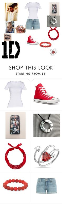 """""""Liam Payne is my boyfriend."""" by sdees ❤ liked on Polyvore featuring D&G, Converse, Payne, New Look, Bling Jewelry, Palm Beach Jewelry and Paige Denim"""