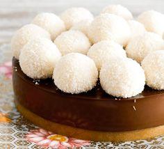 Tarta chocolate y coco