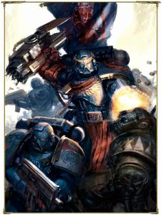 Pedro Kantor - Warhammer 40K Wiki - Space Marines, Chaos, planets, and more