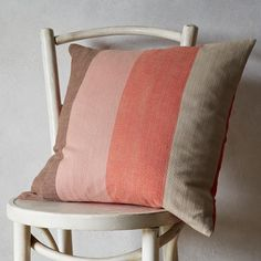 Teatime Stripe Pillow Cover | west elm  Add a hint of color to your home