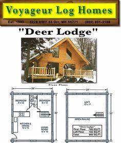 Voyageur Log Homes Deer Lodge