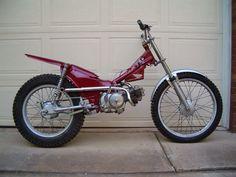 Honda 90 Trials