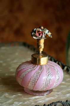 Antique Hand Blown Atomizer by sandraevertson on Etsy, $125.00