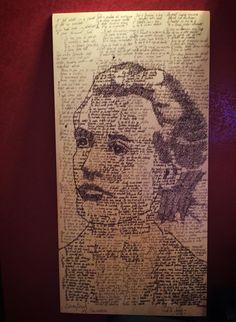 Written portrait of Mihai Eminescu ( poem Luceafarul ) Ballpoint pen on wood Ballpoint Pen, Poems, Writing, Portrait, Wood, Art, Woodwind Instrument, Poetry, Timber Wood