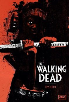The Walking Dead----definitely the weapon I'd want during the zombie apocalypse!