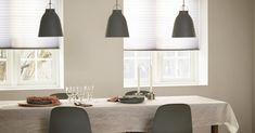 Plisségardiner - fleksible og moderne Ceiling Lights, Lighting, Home Decor, Lily, Decoration Home, Room Decor, Lights, Outdoor Ceiling Lights, Home Interior Design
