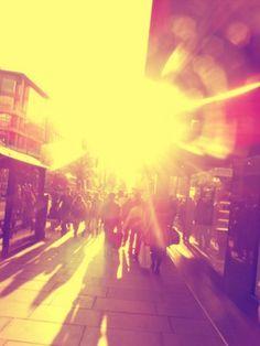 Sunshine.