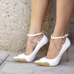 Good Point Plated Snake Chain Heels