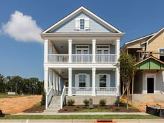 A Beautiful Carolina Blue Plan By Garman Homes From Their Mixed Tape Collection