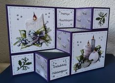 Step Cards, 3d Cards, Studio Lighting, Stampin Up, Birthday Cards, Decorative Boxes, Gallery Wall, Paper Crafts, Handmade Cards