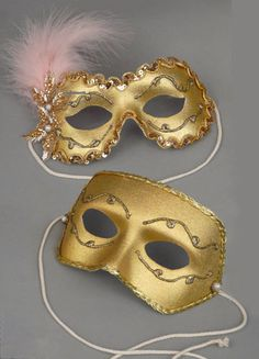 Custom Masquerade Masks for Halloween, Weddings & Mardi Gras by Gypsy Renaissance