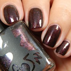Frenzy Polish - Crushed Cranberries Swatch