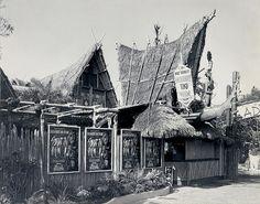 Disneyland Tiki Room Entrance 1963 by Miehana, via Flickr