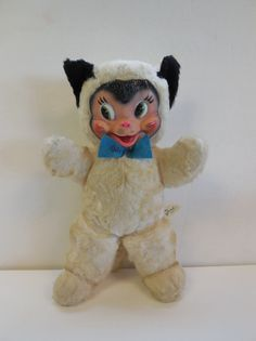 "Vintage Gund Rubber Face ""Cat"" Kitten | eBay"