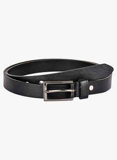 1190d423edf Buy Buckleup Black Synthetic Leather Belt online