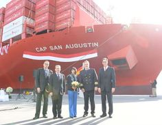 "Hamburg Sud: Christening Of Container Ship ""Cap San Augustin"""