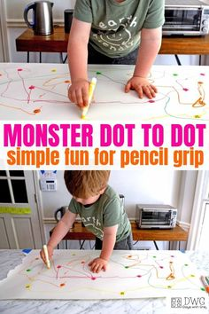 Pencil grip activities - Pencil Grip Activity for Toddlers – Pencil grip activities Motor Skills Activities, Toddler Learning Activities, Infant Activities, Toddler Preschool, Learning Activities For Toddlers, Summer Activities, Teaching A Toddler, Art For Toddlers, Activities For 3 Year Olds