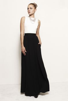 Charlotte Backless Dress with Pockets