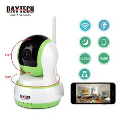 29.97$  Buy now - http://alidue.shopchina.info/go.php?t=32776857549 - Daytech WiFi Camera IP Home Surveillance Camera 960P Baby Monitor Two Way Audio Night Vision IR Mini Security CCTV HD Network  29.97$ #buymethat