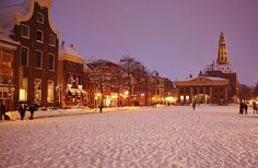 Groningen, Holland in the Winter