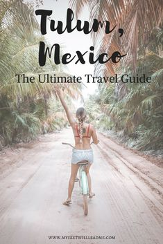 The little boho hippie chic village Tulum is so whimsical and magical. Here is a comprehensive Tulum Travel Guide with everything you need to plan your visit to Tulum, Mexico.  #TulumMexico #TulumGuide #TulumTravel #TulumItinerary