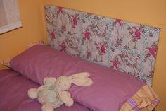 Tutorial gratuito para realizar un cabezal de madera para la cama forrado con la tela que más te guste
