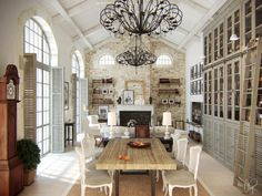 mediterranean style apartment by Denis Svirid, via Behance