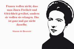 Simone de Beauvoir. Aus: Alice Schwarzer (2008): Simone de Beauvoir. Weggefährtinnen im Gespräch.