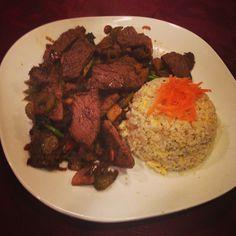 @bambi_annie - Steak and veggie stir fry with fried cauli-rice! BOMB! emoji #paleo #dinner #yum #carnivore #paleopal #paleolifestyle #wholelifechallenge #wlc