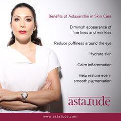 #Astatude #SkincareWithAnAttitude #PoweredByAstaxanthin #SwissFormulation  www.astatude.com