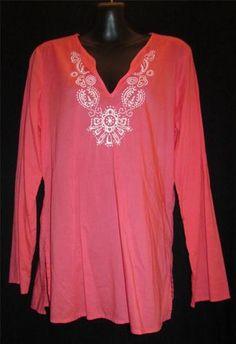 Bid starts at .99 cents  Gap Medium Shirt NEW Womens Medium Blouse Ladies Medium Top Peach NICE